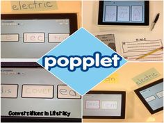 Using Popplet and ShowMe app in the classroom