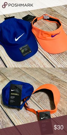 Bundle of 2 Nike Women Cap and Visor NWT Excellent for walking, running, tennis or any outdoor activities Bundle of 2 Nike Cap and a visor New with tag Great deal! One Size Fits Most Nike Accessories Hats