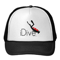 Shop idive trucker hat created by Personalize it with photos & text or purchase as is! Gifts For Scuba Divers, Custom Hats, Cool Designs, Accessories, Shopping, Fashion, Moda, Fashion Styles, Fashion Illustrations