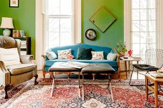 Tour a Stately and Stylish Historic Michigan Home via @domainehome