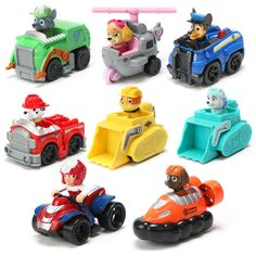 ATOY Patrol Puppy Dog Toys Car Action Figures Russian Cartoon Canine Model Kids Gift Patrulla Canina juguetes for Children's toy #clothing,#shoes,#jewelry,#women,#men,#hats,#watches,#belts,#fashion,#style