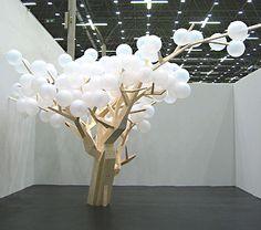 Installation by Jacob Hashimoto