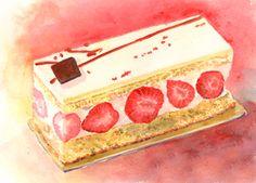 フレジエ Sweets, Cake, Desserts, Food, Tailgate Desserts, Deserts, Gummi Candy, Candy, Kuchen