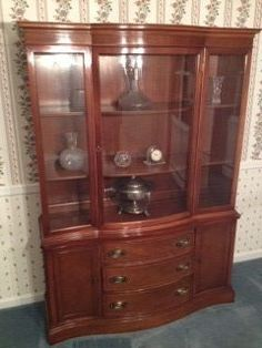 Duncan Phyfe China Cabinet 1940 S Books Worth Reading