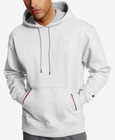 The classic look and feel you love gets better with this Champion hoodie, featuring soft Powerblend fleece that keeps you comfortable without the bulk. Fleece Hoodie, Pullover, Mens Fleece, Mens Activewear, White Hoodie, Mens Sweatshirts, Men's Hoodies, Trendy Plus Size, Baby Clothes Shops