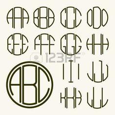 diamond point monogram digital cut file diamond font