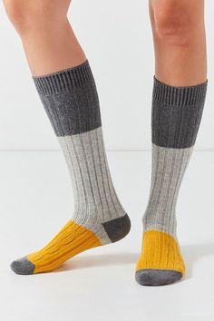 b6d0369f1 Pair Of Thieves Glamping Colorblocked Boot Sock Knee Socks