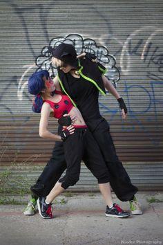 isaisanisa: Miraculous Moves– based on @starrycove's Miraculous Ladybug breakdance AU [Ladybug][Chat][Photo]