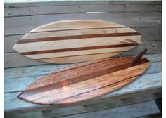 Handmade Decorative Wooden Surf Board by by mrwoodwizard on Etsy
