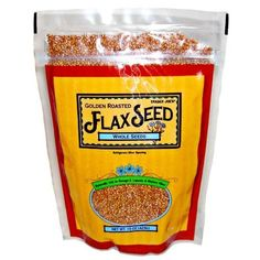 Trader Joe's Golden Roasted Flax Seeds Whole Seeds by Trader Joe's ...
