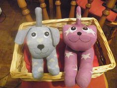 Sock Cat and dog