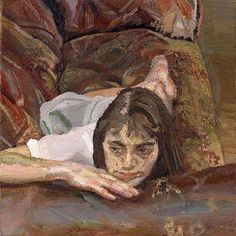 Lucian Freud - Esther, oil on canvas, x cm Sigmund Freud, Figure Painting, Painting & Drawing, Lucian Freud Paintings, Contemporary Artists, Modern Art, Antoine Bourdelle, Chaim Soutine, Artists And Models