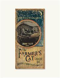 Farmer's Cat Country Inn Sign