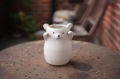 Ceramic Flower Pots, Ceramic Vase, Flower Vases, Rabbit Sculpture, Zoo Keeper, Pottery Mugs, Stoneware, Tea Cups, Etsy Shop