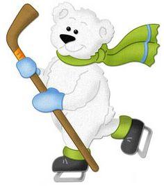 CottageCutz - Skating Polar Bear 4x4 Die