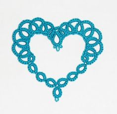 tatted heart…even more beautiful in it's simplicity of form!