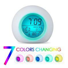 Tsv Kids Alarm Clock Children S Sleep Trainer Sleep Sound Machine Wake Up Lig Ebay In 2020 Alarm Clock Kids Alarm Clock Clock For Kids