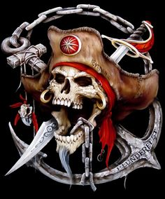 images for anime fantasy art The Pirates, Pirates Cove, Pirates Of The Caribbean, Pirate Art, Pirate Skull, Pirate Life, Pirate Ships, Pirate Flags, Pirate Woman