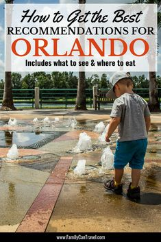 Wondering where to eat and what to do in Orlando? Here is how to get the best recommendations for a family vacation to Orlando. Orlando Vacation, Orlando Resorts, Florida Vacation, Florida Travel, Orlando Florida, Travel Usa, Disney Travel, Florida Usa, Travel With Kids