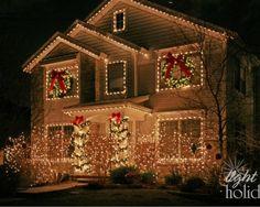 Exterior Christmas Lights Design