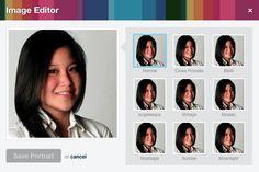 Vimeo profile pic editor.