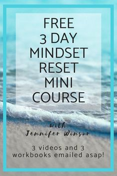 My free Mindset Reset Mini Course will take you through the exact steps to overcome doubts, boost your self confidence and go for your goals! Success Mindset, Positive Mindset, Growth Mindset, Positive Affirmations, Positive Things, Negative Thinking, Negative Thoughts, Self Development, Personal Development
