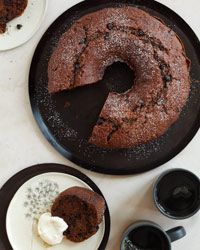 he pan to a rack and let the cake cool for 10 minutes, then invert it onto the rack and let cool completely, about 20 minutes. Sift confecti...