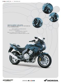 Gráfica Prensa / Honda Motos / CBF1000 juannavarro.jnt@gmail.com
