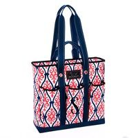 Scout by Bungalow Pocket Rocket Tote - Deflategate with Sugarplum Font