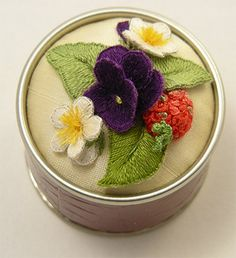 Windflower Embroidery » Pin Tins