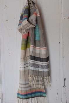 cook woods scarf | Avalanche Looms