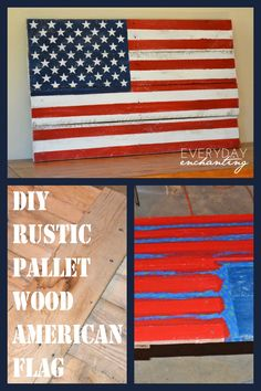 Wood Pallet Projects Sue S Clipboard On American Flag