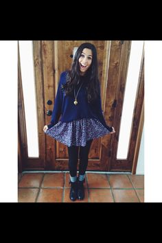 Love this outfit from Lauren Cimorelli