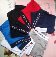 2019 2018 Cotton Men'S Boxer Shorts Mens Sexy Underwear White And Red Line . - Stacy Home Bustiers, Lacoste, Cotton Boxer Shorts, Plus Size Brands, Bodysuit, Under Pants, Aliexpress, Jeans, Adidas Jacket