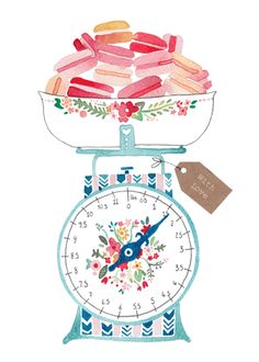Vintage scales-Felicity French