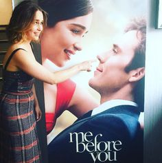 "Seriously, how blessed are we to have these two promoting a film together? | 24 Times The ""Me Before You"" Cast Scored Themselves On Your Heart"