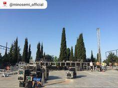 Προετοιμασία για τη συναυλία της Ελεωνόρας Ζουγανέλη στο θέατρο Δάσους στη Θεσσαλονίκη! 🎶 #eleonorazouganeli #eleonorazouganelh #zouganeli #zouganelh #zoyganeli #zoyganelh #elews #elewsofficial #elewsofficialfanclub #fanclub #elzouganeli #nyxteskalokairiou #kalokairi2018 #live Fan, Club, Hand Fan, Fans
