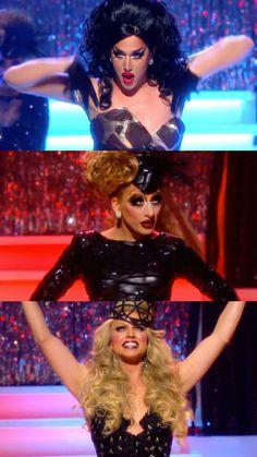 Top 3 Rupaul's Drag Race Season 6: Adore Delano, Bianca Del Rio and Courtney Act