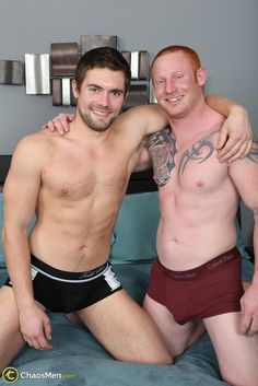 Straight Redheaded Muscle Hunk