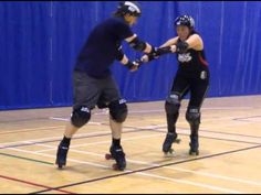 Derby drills--apex jumps and pegassists from the Pirate City Rollers