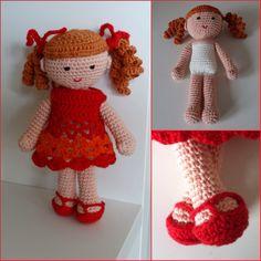 ☆ Poppie gehaakt Crochet Haken