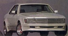 http://chicerman.com  carsthatnevermadeit:  Sbarro Shanin 1000 1983. Presented as a prototype at the Geneva Motor show based on the C126 series Mercedes Benz 500 SEC but fitted with Mercedes 6.9 litre V8 the gull-winged Shanin was made in limited numbers  #cars