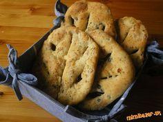 Fougasse -provensálsky plnený chlebík