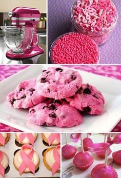 PINK cookies...