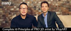 Complete 10 Principles of PRO 3D artist  http://www.cgramp.com/latest/complete-10-principles-of-pro-3d-artist/