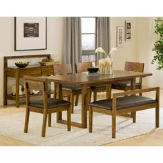 Noah Chocolate 4 Pc Bar Height Dining Room With Vanilla