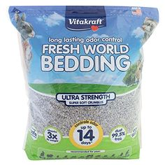 Vitakraft Fresh World Ultra Strength Crumble Bedding for Small Animals rabbit bedding Hamster Bedding, Guinea Pig Bedding, Rabbit Litter, Litter Box, Pet Rabbit, Pet Rat Cages, Healthy Pets, Pet Rats, Guinea Pigs