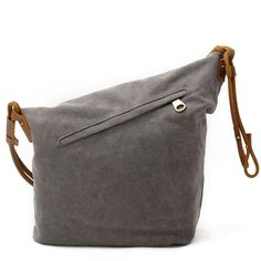 Material:Canvas and leather Internal structure: 1inside pocket, 1compartment pocket,2zipper pocket, 1cell phone pocket, 1document pocket Color: Khaki ,Gray,Blu