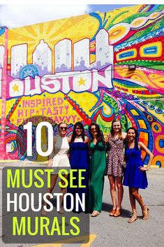 10 Walls You Need to See in Houston, TX | Houston Street Art | Houston Graffiti | Houston Murals | Visit Houston Tours | Houston Art Tours