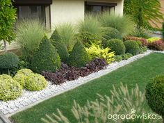 Front yard garden landscaping design